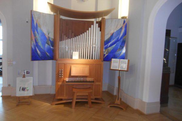 Porzellanreisen Meissen Museum Orgel