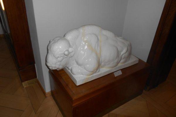 Porzellanreisen Meissen Museum Tierskulptur