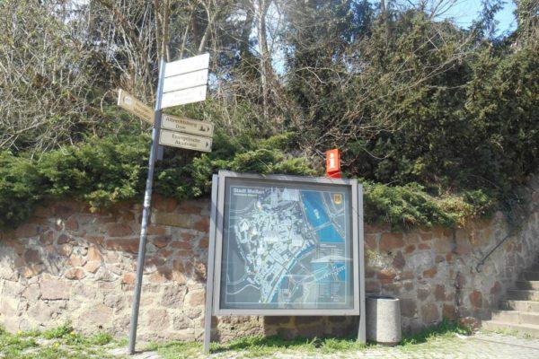 Porzellanreisen Meissen Orientierungsplan Albrechtsburg
