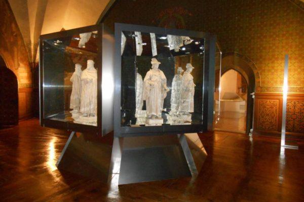 Porzellanreisen Meissen Skulpturen Albrechtsburg