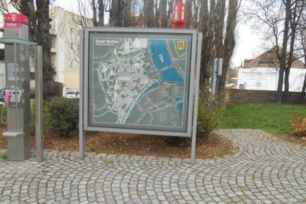 Porzellanreisen Meissen Stadtplan