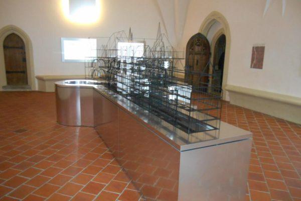 Porzellanreisen Meissen Vitrine Albrechtsburg