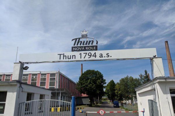 Porzellanreisen Thun Fabrikeingang