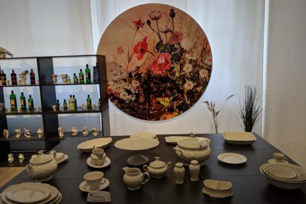 Porzellanreisen Thun gedeckter Tisch